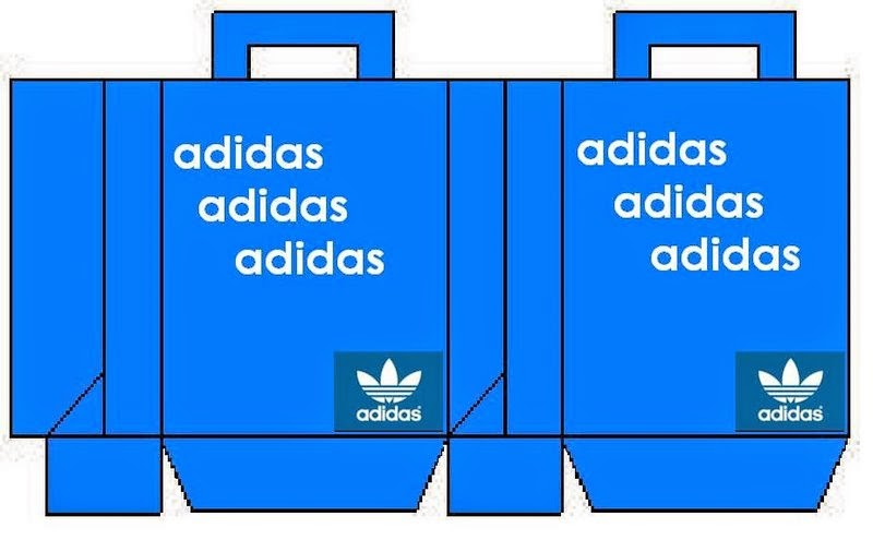 Cajas de Adidas para Imprimir Gratis.