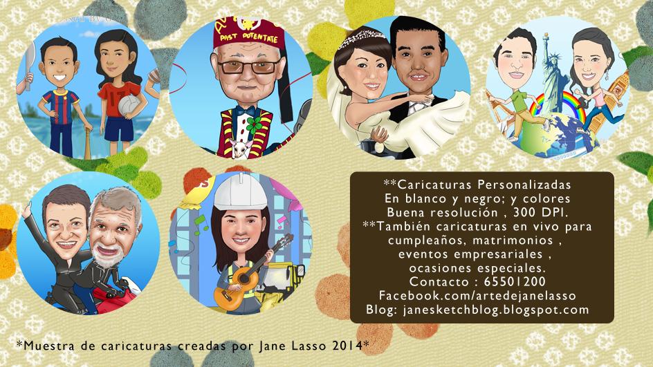 Caricaturas personalizadas en Panamá