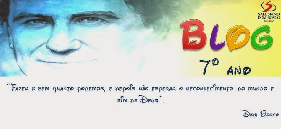 Salesiano Dom Dosco - 7º ano
