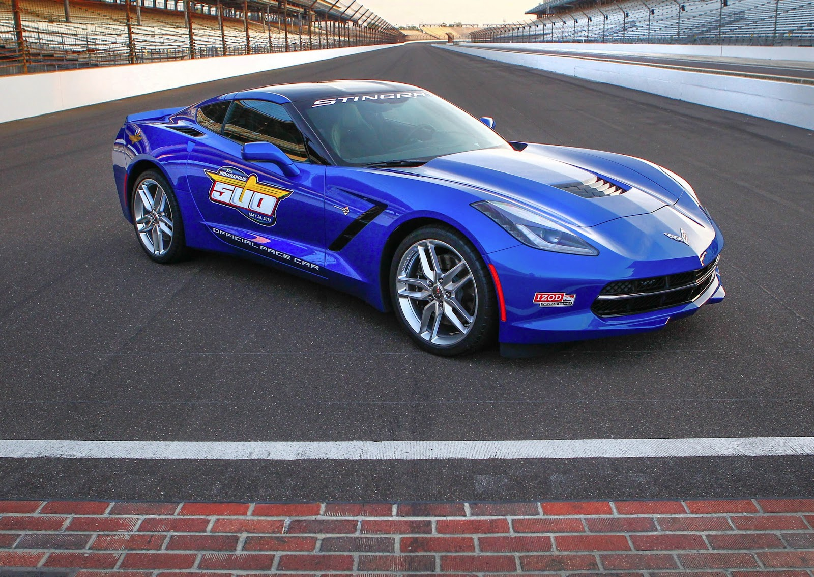Indianapolis 500 2014 Corvette Stingray Pace Car