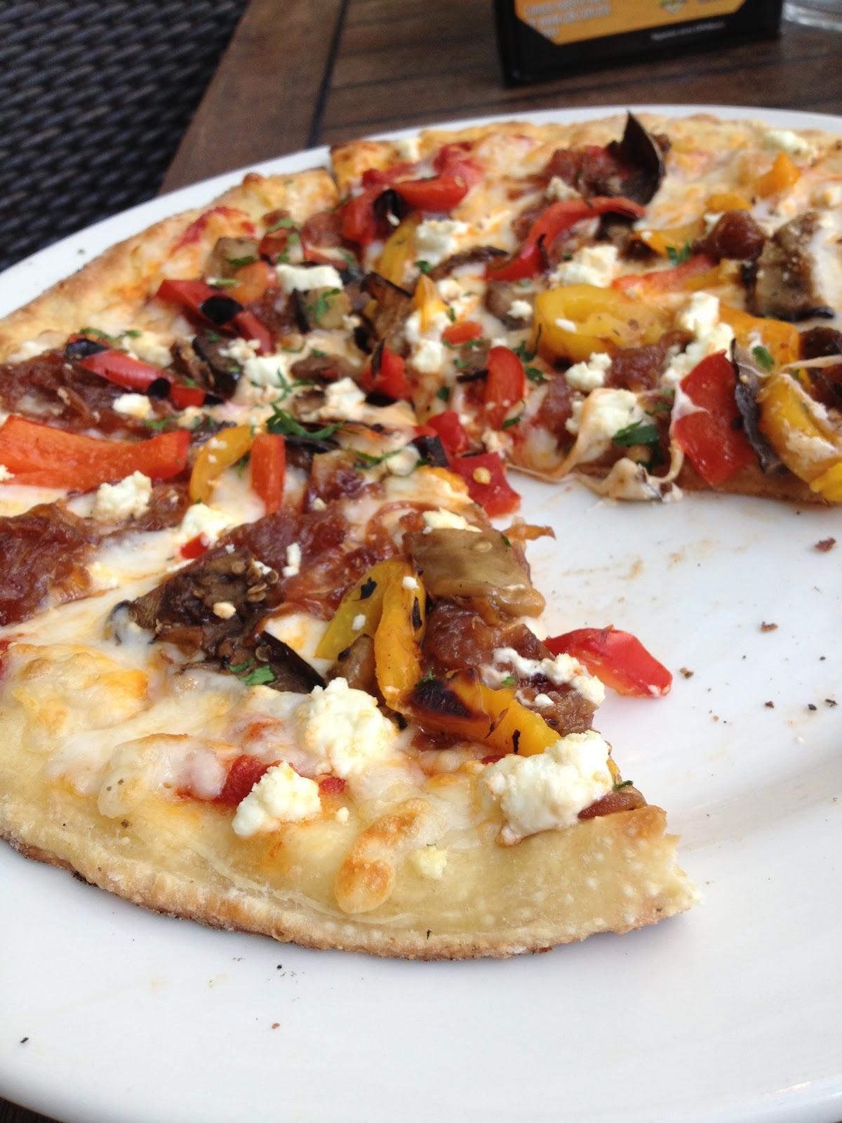 Come Vegetariano: California Pizza Kitchen - México DF