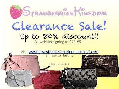 Wristlet clearance SALE!!