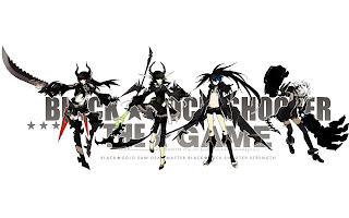 Black Rock Shooter Dead Master Strength Black Gold Saw  Girls Anime HD Wallapper Desktop PC Background 1718