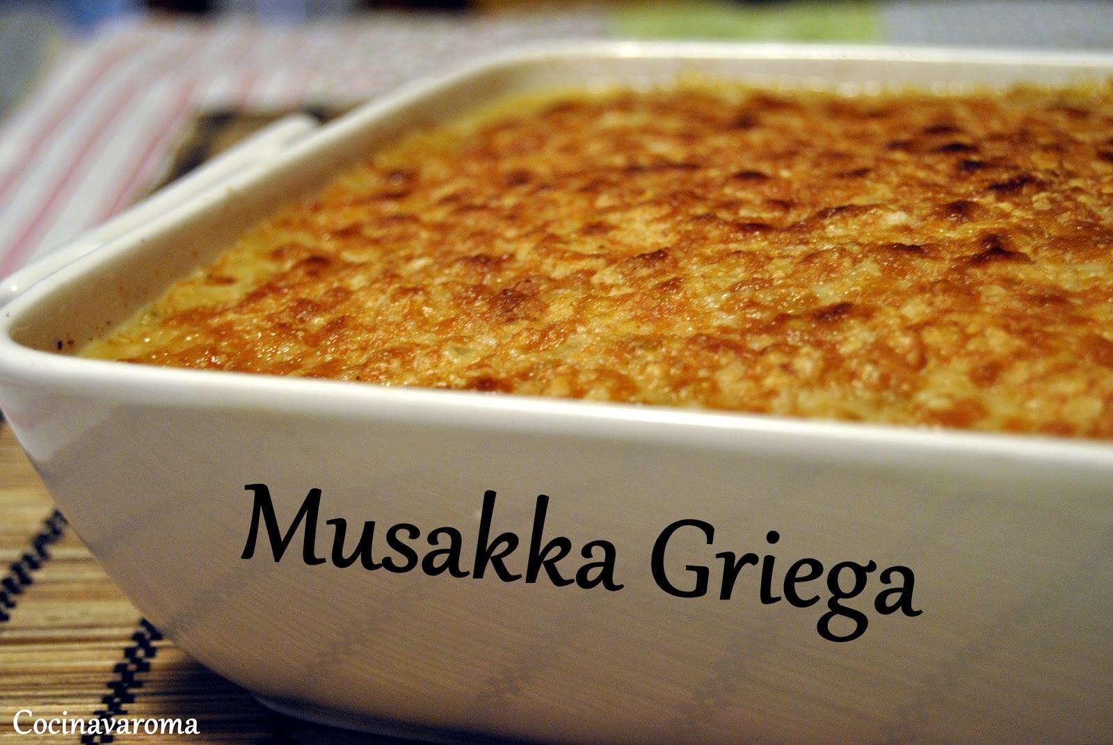 Cocina Varoma: Vuelta de vacaciones y Mussaka Griega!! Empezamos!