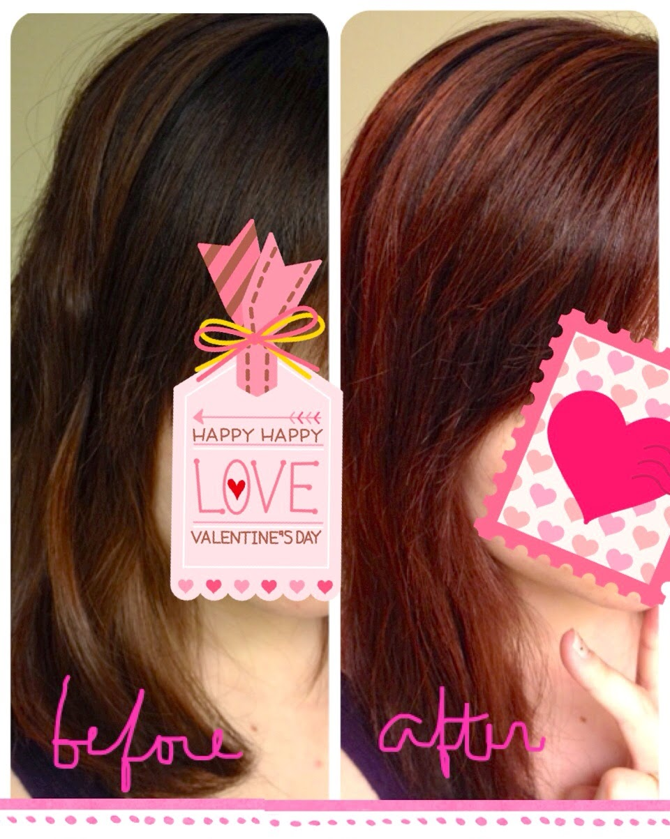 Kixi loves review palty foam pack hair color raspberry jam before after nvjuhfo Choice Image