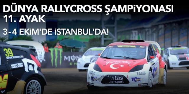 İstanbul dünya rallikross şampiyonasını bekliyor