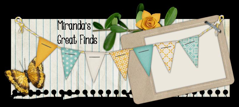 Miranda's Great Finds