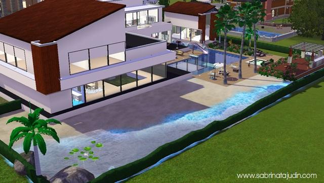 The sims 3 my house sabrina tajudin malaysia beauty for Modern house plans sims 4