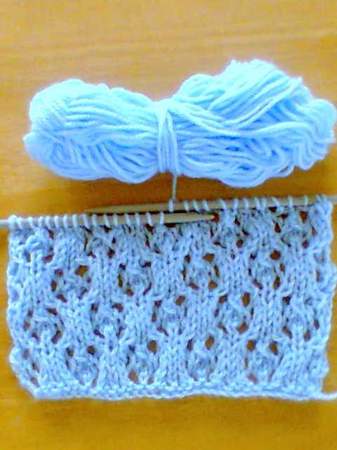 Knitting No Stitch : KNITIT: Free Fancy Knitting Stitch: No. 82