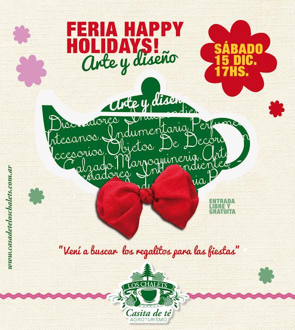 FERIA HAPPY HOLIDAYS - CASITA DE TÉ LOS CHALETS