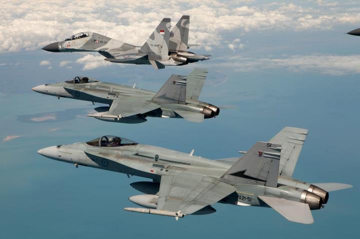 Pesawat tempur canggih F-16 Indonesia di tubuh TNI