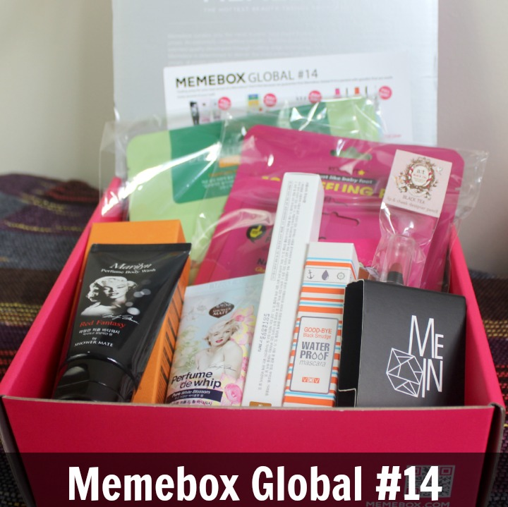 Memebox Global #14 review unboxing contents