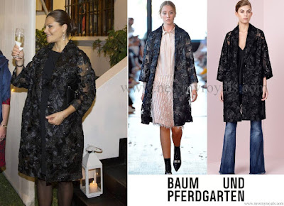 Crown Princess Victoria Style BAUM UND PFERDGARTEN Lace & silk Embroidered Jacket