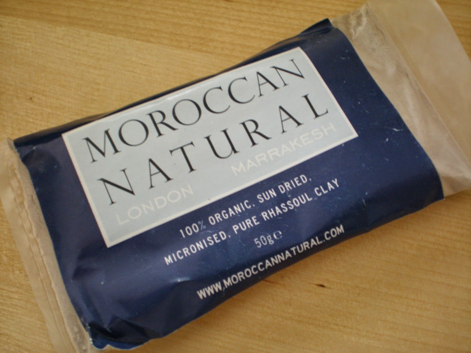 Moroccan Natural - 100% Rhassoul clay