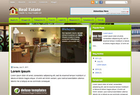Real Estate Blogger Template