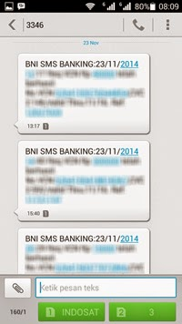 Cara Request Nomor VCN BNI Melalui *141# SMS Konfirmasi