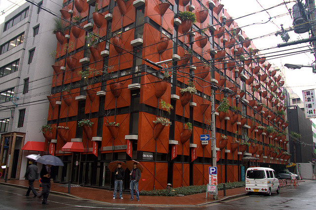 Japoneses tem prédio orgânico desde 1993 em Osaka