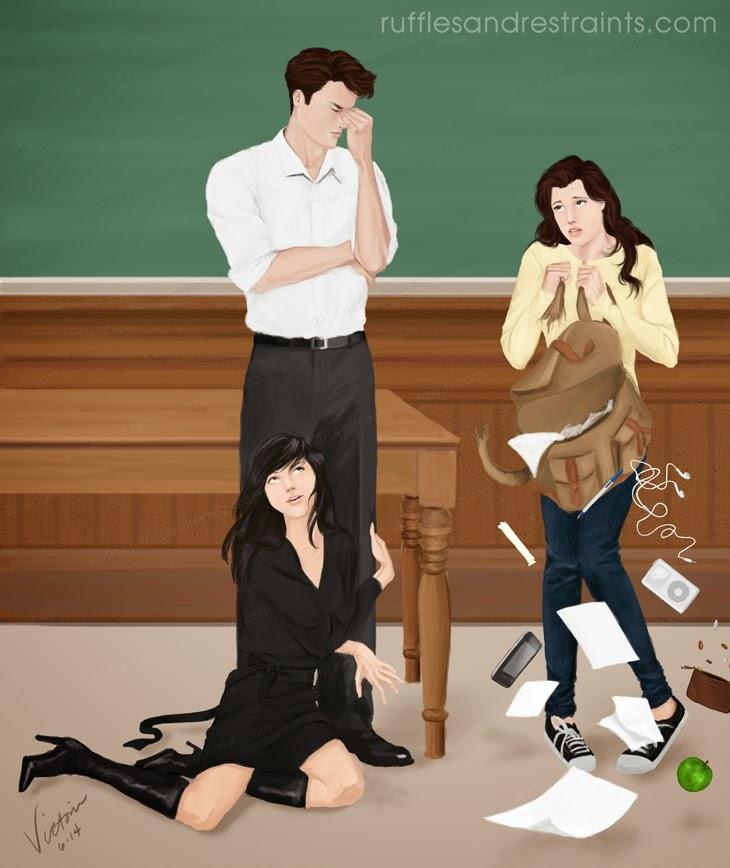 Gabriel, Julia y Christa
