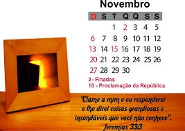 Novembro seja bem vindo!!