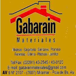 GABARAIN MATERIALES