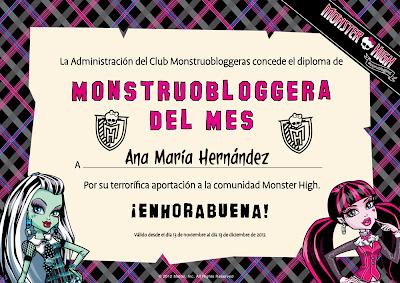 Monstruobloggera Noviembre 2012