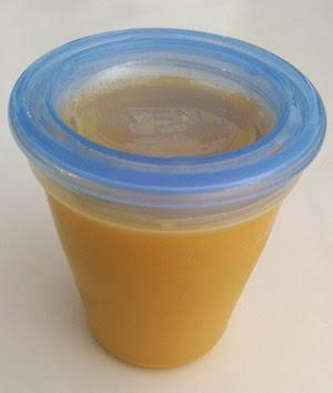 Papilla de calabaza con pollo y arroz (Bebés 9-10 Meses)