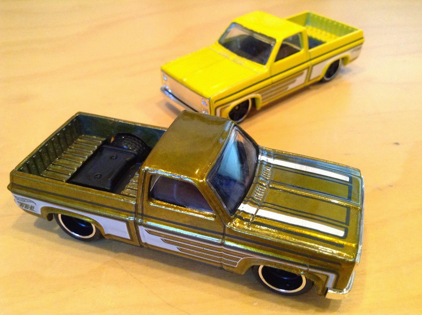 Julian's Hot Wheels Blog: '83 Chevy Silverado - Super Treasure Hunt