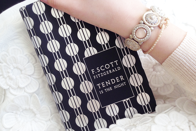 tender is the night book clutch