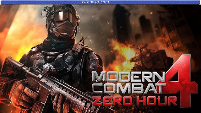 Modern Combat 4: Zero Hour v1.0.6 apk + data Download