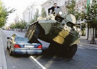 Jangan Parking Sesuka Hati