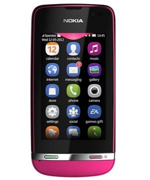 Nokia Asha 311 Rojo Tienda Claro Perú