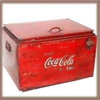 Rå tøffe gamle Cola kasser