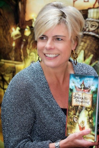 Princess Laurentien takes her new fairy tail book De Sprookjessprokkelaar in theme park De Efteling in Kaatsheuvel, The Netherlands, 05.10.2014. The fairy tail book written by Princess Laurentien and Paul van Loon is an cooperation between theme park De Efteling and foundation Lezen en Schrijven