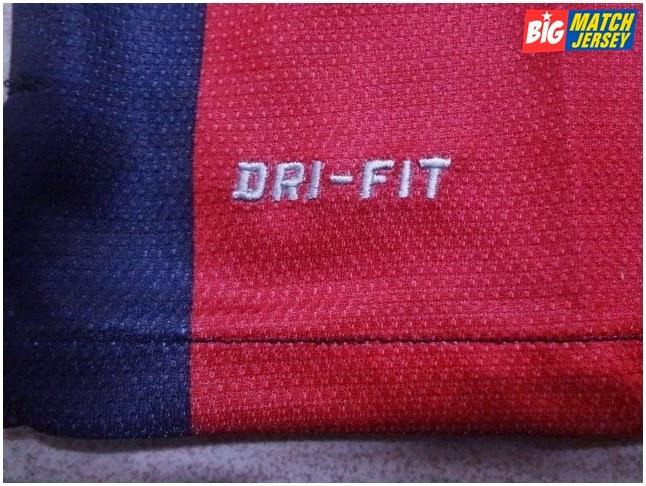 Logo Dri Fit Bordir Jersey Player Issue