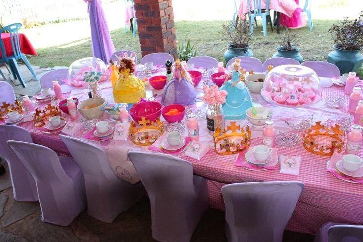 Princesas disney decoraci n de fiestas infantiles - Decoracion fiesta princesas disney ...