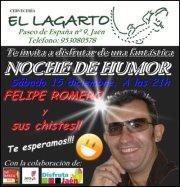 jaen humor taberna el lagarto Felipe Romero Jaen by the face