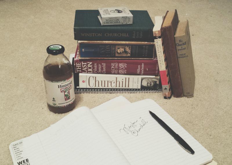 Short essay winston churchill