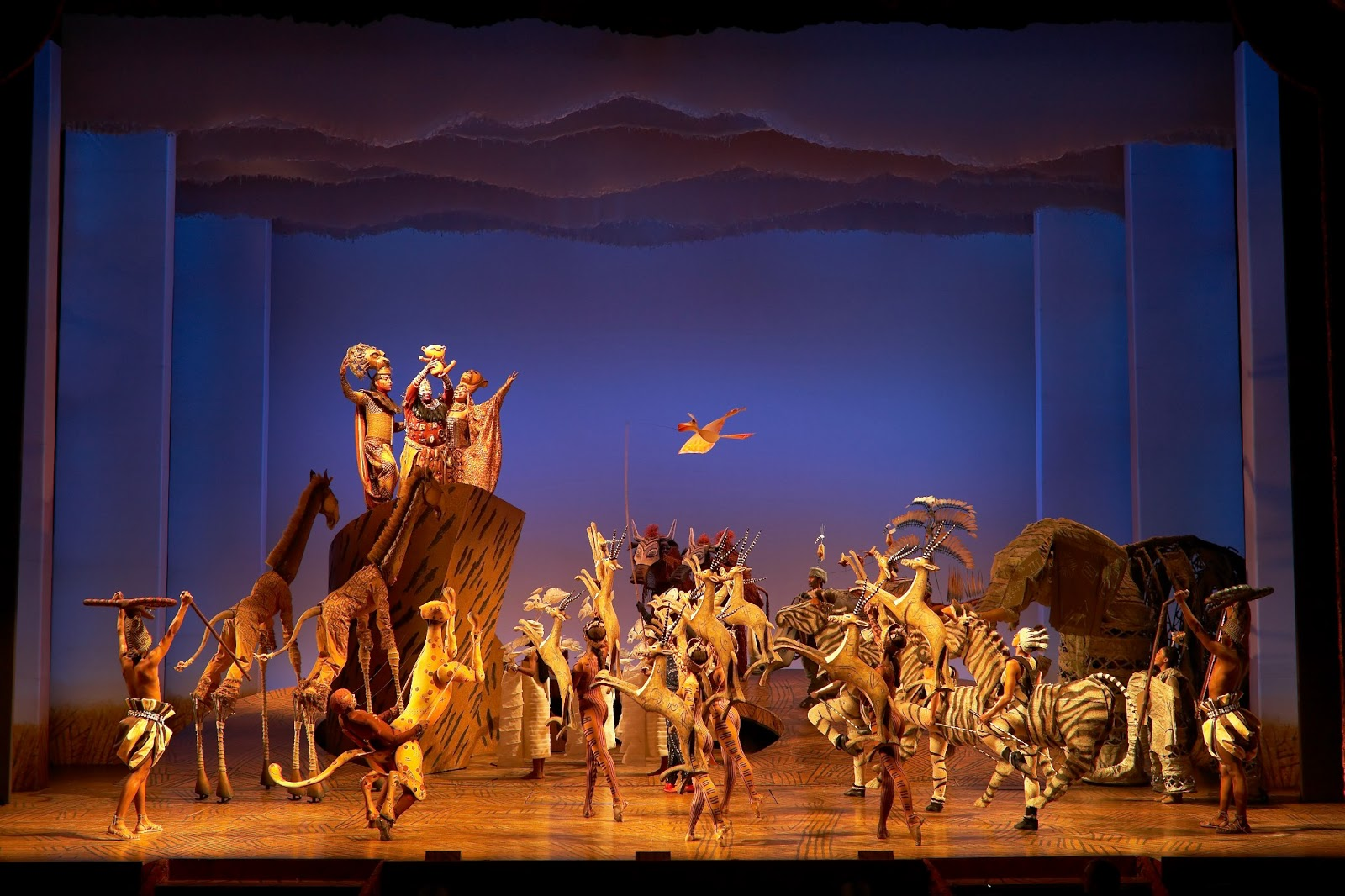 The theatre blog review the lion king uk tour july 2013 for The broadway