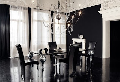 Dining Room on Color Specialist In Charlotte  The Black Dining Room