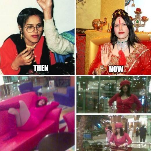 Param Shradhey Shri Radhe Maa funny meme photo