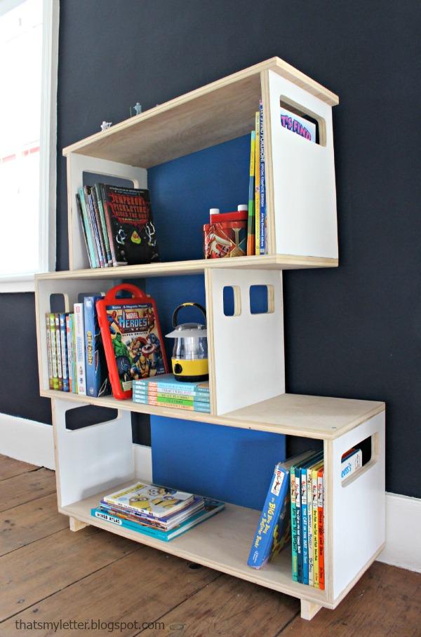 Diy modern bookshelf 28 images 12 cheap and attractive for Post modern bookshelf