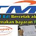 TM Bill Bercetak Akan Dikenakan Bayaran RM5