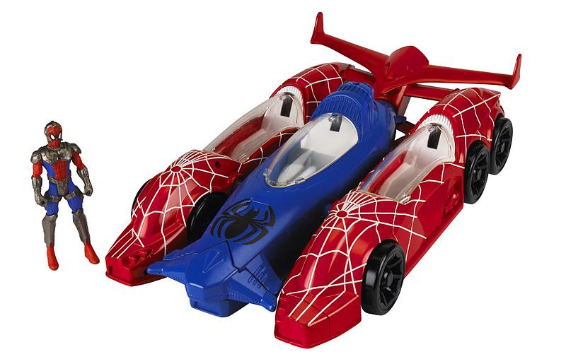 Voiture spiderman colorier les enfants - Spiderman voiture ...