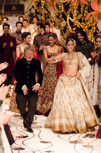Rohit Bal Sonam Kapoor India Bridal Fashion Week 2013