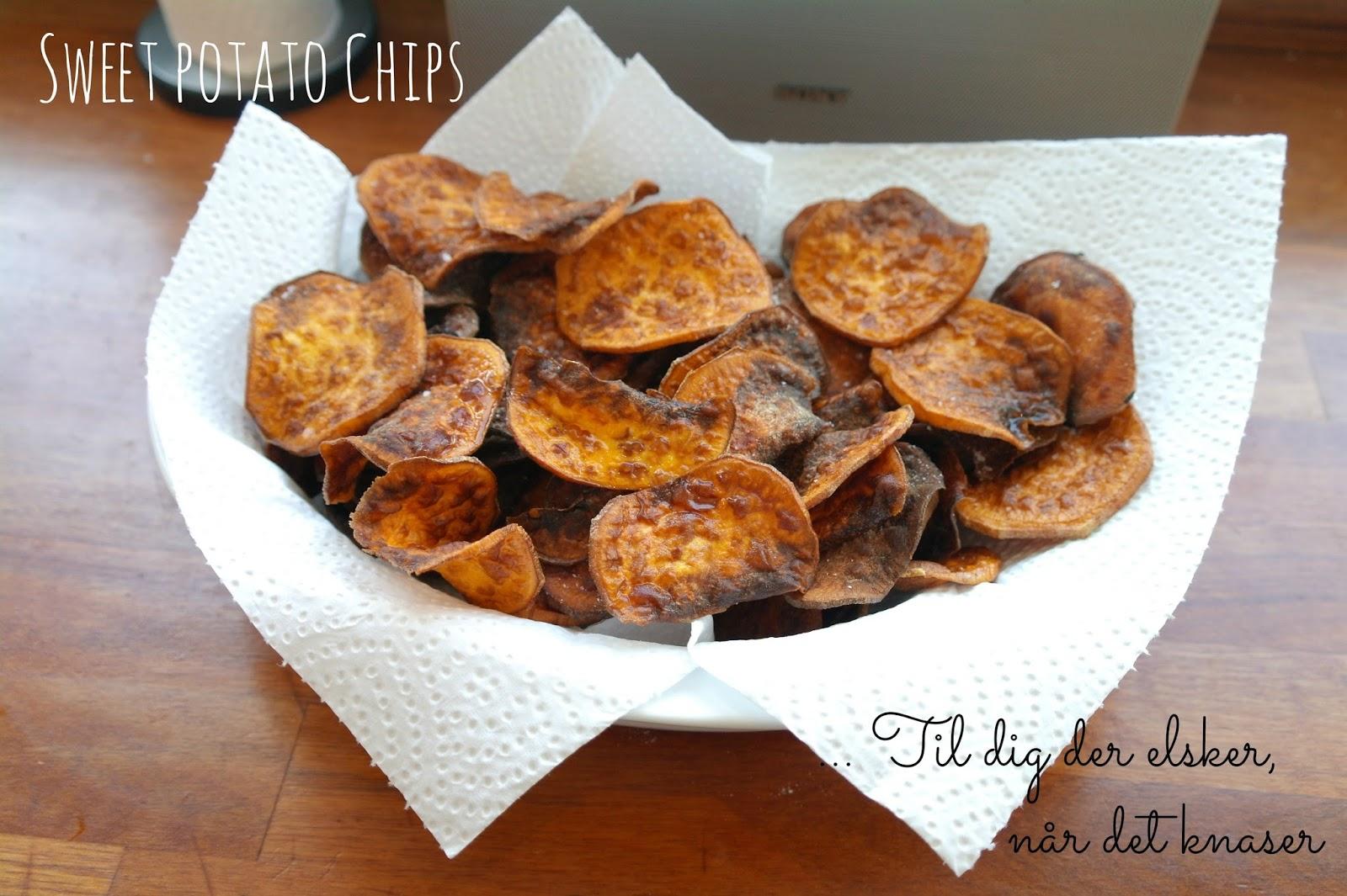 God Mad Og Søde Sager Sweet Potato Chips