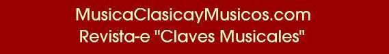 Blog de Claves Musicales - MusicaClasicayMusicos.com