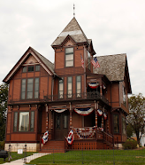 Featured Marker:<br>Haunted Wisconsin<br>H.C. Timm House 1873 (Calumet County)