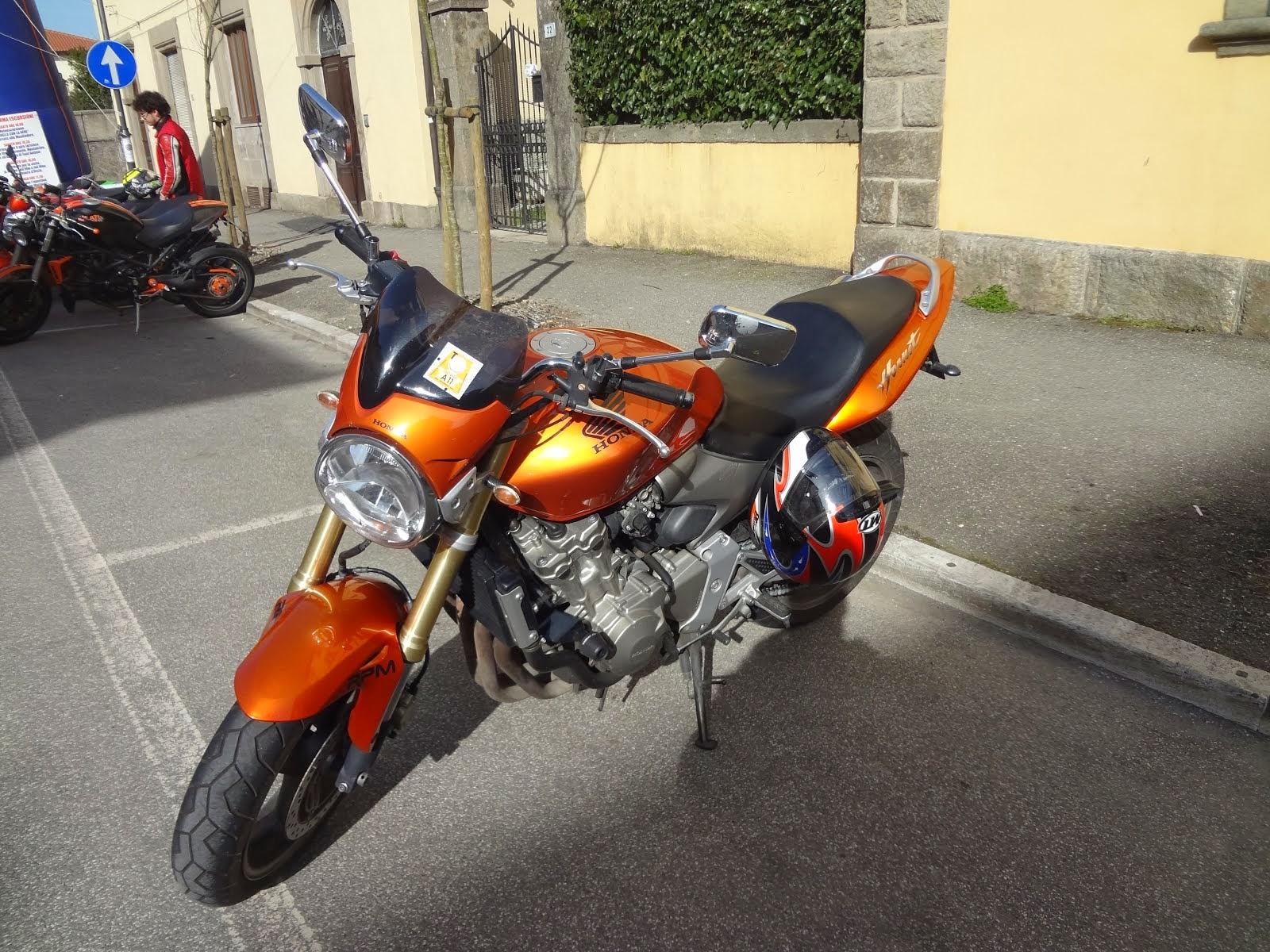 2005 Honda Hornet CB600F5 from Rombi Di Gloria