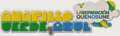 AMARILLO VERDE Y AZUL