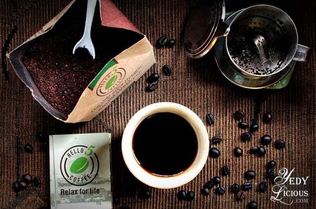 Hello 5 Vietnamese Premium Organic Coffee from Bennet and Palmer The Global Gourmet Online Shop
